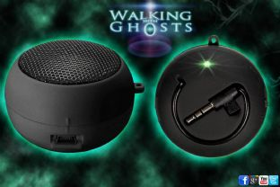 Mini Speaker for Spirit Box PSB7 EVP MP3 Rechargeable USB Ghost Hunt Paranormal